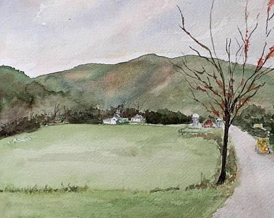 Painting - Road Work by Rachel Barlow