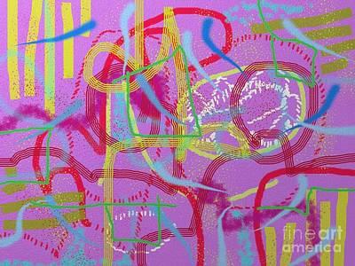 Digital Art - Road Work by Chani Demuijlder