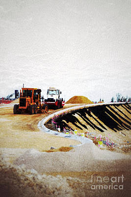 Photograph - Road Works by Darla Wood