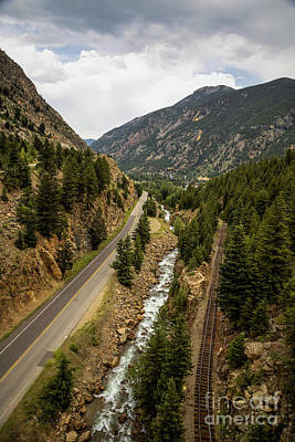 Photograph - Roadbed by Jon Burch Photography