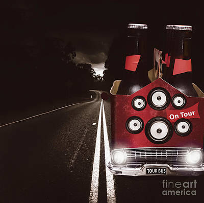 Beer Royalty-Free and Rights-Managed Images - Roadies on beer festival tour by Jorgo Photography - Wall Art Gallery