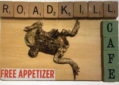 Mixed Media - Roadkill Cafe by Douglas Fromm