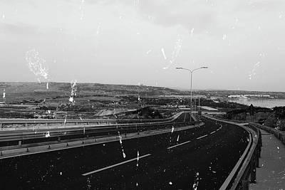Photograph - Roads In Malta B Fine Art by Jacek Wojnarowski