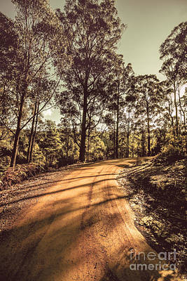 Gravel Road Photograph - Roads Less Travelled  by Jorgo Photography - Wall Art Gallery