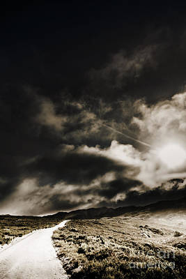 Art Print featuring the photograph Roads Of Atmosphere  by Jorgo Photography - Wall Art Gallery