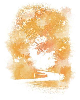 Digital Art - Roads Of Autumn by Andrea Mazzocchetti