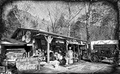 Photograph - Roadside Antiques by Joe Duket
