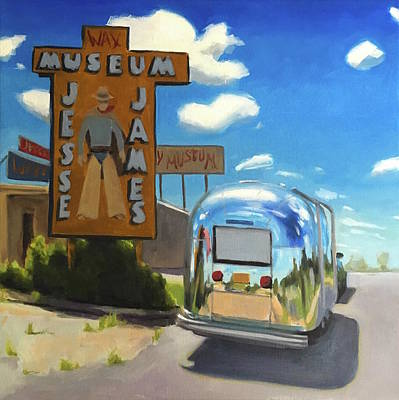 Painting - Roadside Attraction On Route 66 by Elizabeth Jose