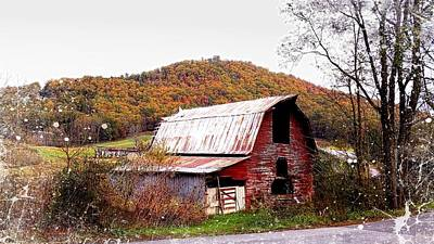 Photograph - Roadside Barn by Joe Duket