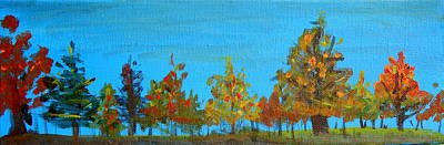 Painting - Roadside by Betty-Anne McDonald