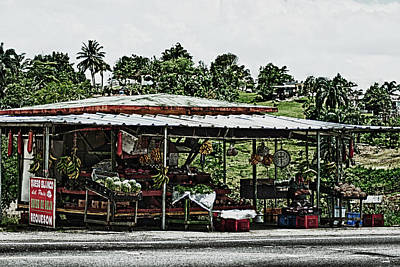 Roadside Bodega In Puerto Rico Original