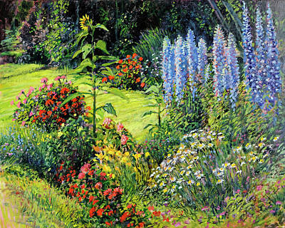 Painting - Roadside Garden by Steve Spencer