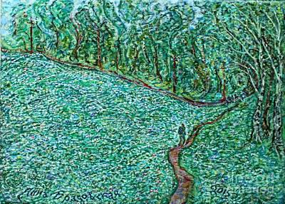 Painting - Roadside Green by Anna Yurasovsky