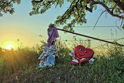 Photograph - Roadside Memorial 2 by Bonfire Photography