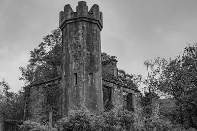 Photograph - Roadside Relic Bw by Teresa Wilson
