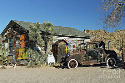 Photograph - Roadside Relics by Rick Mann