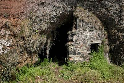 Photograph - Roadside Ruins - County Antrim 9514 by Teresa Wilson