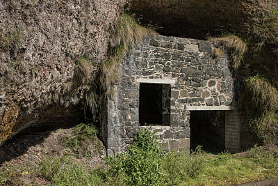 Photograph - Roadside Ruins - County Antrim 9517 by Teresa Wilson