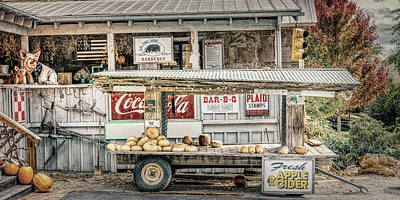 Photograph - Roadside Stand by Steven Greenbaum