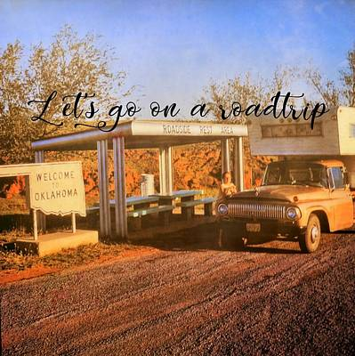 Photograph - Roadside Stop Quote by Jamart Photography