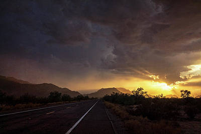 Photograph - Roadside Sunset  by Saija Lehtonen