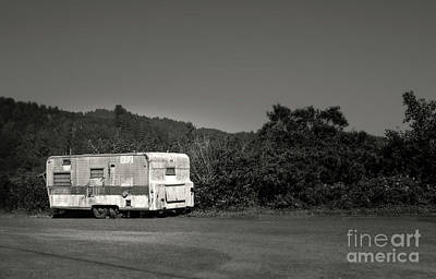 Photograph - Roadside Trailer by Gregory Dyer