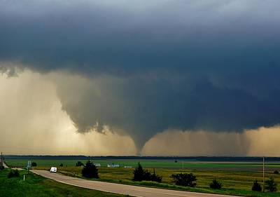 Photograph - Roadside Twister by Ed Sweeney