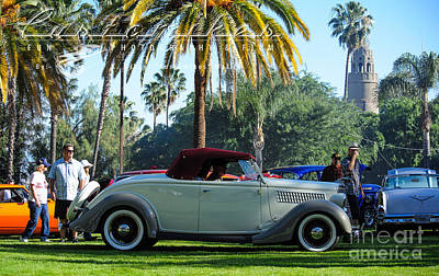 It Polish Photograph - Roadster At The Castle by Customikes Fun Photography and Film Aka K Mikael Wallin