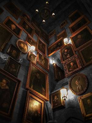 Harry Potter Photograph - Roaming The Walls  by Luis Rosario