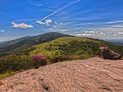 Photograph - Roan High Knob by Kevin Senter