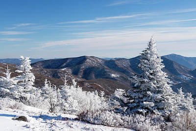 Photograph - Roan Mountain In The Winter by Serge Skiba