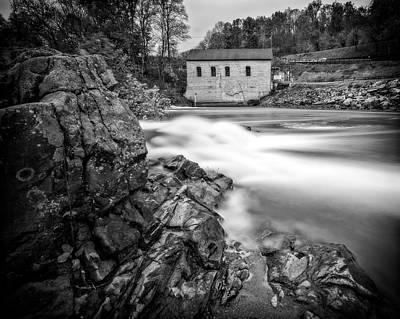 Photograph - Roanoke River Flow by Alan Raasch
