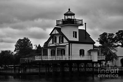 Bay Photograph - Roanoke River Lighthouse 2 by Chuck Hicks
