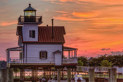 Photograph - Roanoke River Lighthouse II by Pete Federico