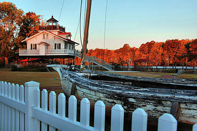 Photograph - Roanoke River Maritime Museum by Ben Prepelka