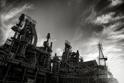Manufacturing Photograph - Roar No More by Olivier Le Queinec
