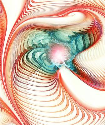 Story Digital Art - Roar Of A Dragon by Anastasiya Malakhova