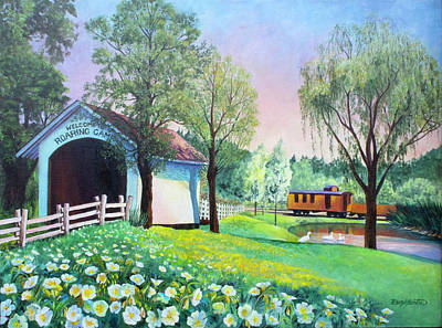 Painting - Roaring Camp In Spring by Beverly Martin