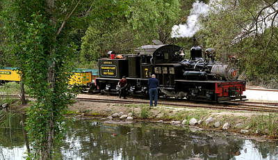 Photograph - Roaring Camp Steam Train by Michele Myers