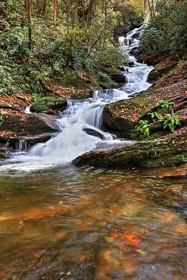 Photograph - Roaring Fork Creek Falls II by Carol Montoya