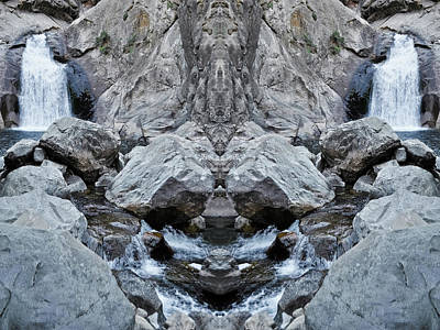 Photograph - Roaring River Falls Mirror by Kyle Hanson