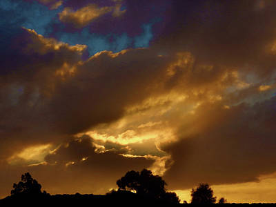 Photograph - Roaring Sunset by Mark Blauhoefer
