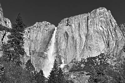 Photograph - Roaring Yosemite Falls by Eric Tressler