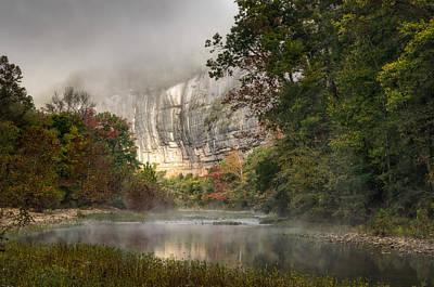 Buffalo National River Photograph - Roark's Bluff by James Barber