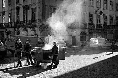 Photograph - Roasted Chestnuts by Carlos Caetano