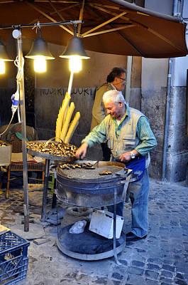 Photograph - Roasting Chestnut by Andrew Dinh