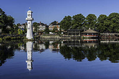 Photograph - Roath Park Lake 1 by Steve Purnell