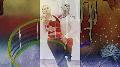 Digital Art - Rob And Oksana by Jan Steadman-Jackson