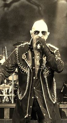 Photograph - Rob Halford  by Rob Hans