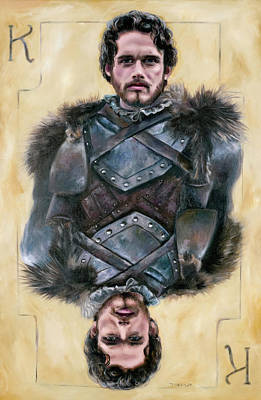 Painting - Robb Stark by Denise H Cooperman